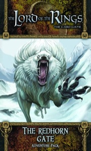 The Lord of the Rings the Card Game: The Redhorn Gate Adventure Pack