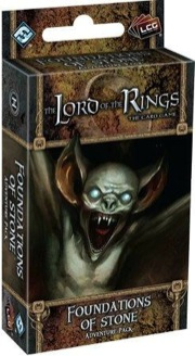The Lord of the Rings the Card Game: Foundations of Stone Adventure Pack