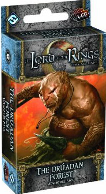 The Lord of the Rings the Card Game: The Druadan Forest Adventure Pack
