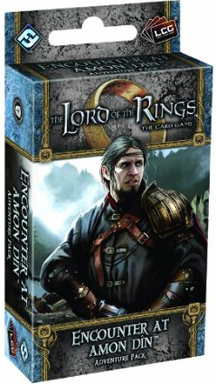 The Lord of the Rings the Card Game: Encounter at Amon Din Adventure Pack