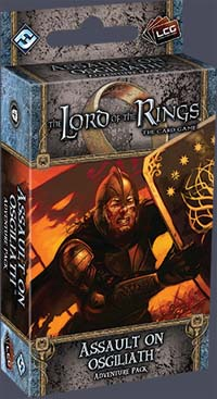 The Lord of the Rings the Card Game: Assault on Osgiliath Adventure Pack