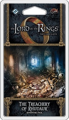 The Lord of the Rings the Card Game: The Treachery of Rhudaur Adventure Pack
