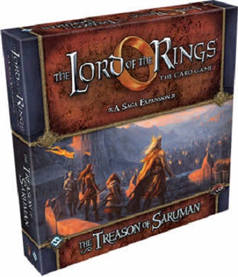 The Lord of the Rings the Card Game: The Treason of Saruman Adventure Pack