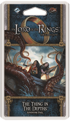 The Lord of the Rings the Card Game: The Thing in the Depths Deluxe Expansion