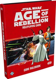 Star Wars: Age of Rebellion Role Playing: Core Rulebook - Used
