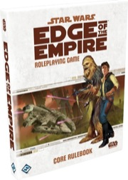 Star Wars: Edge of the Empire Role Playing: Core Rule Book - Used