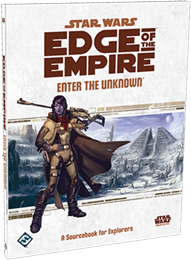 Star Wars: Edge of the Empire Role Playing: Enter the Unknown - Used