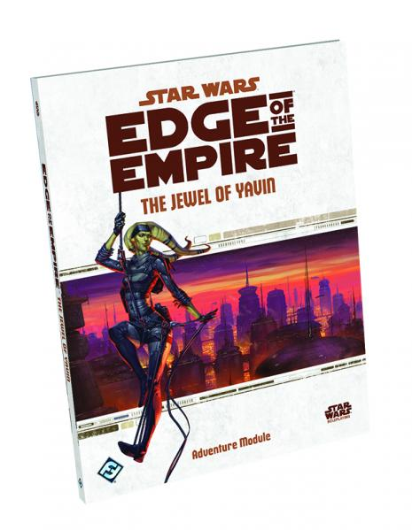 Star Wars: Edge of the Empire: The Jewel of Yavin - Used