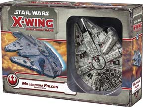 Star Wars: X-Wing Miniatures Game: Millennium Falcon Expansion Pack