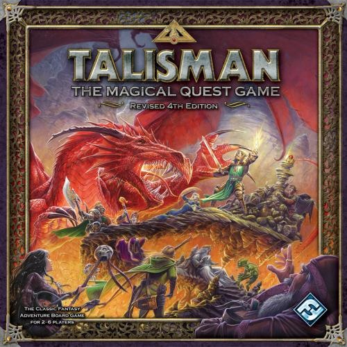 Talisman: the Magical Quest Game: Revised 4th Edition