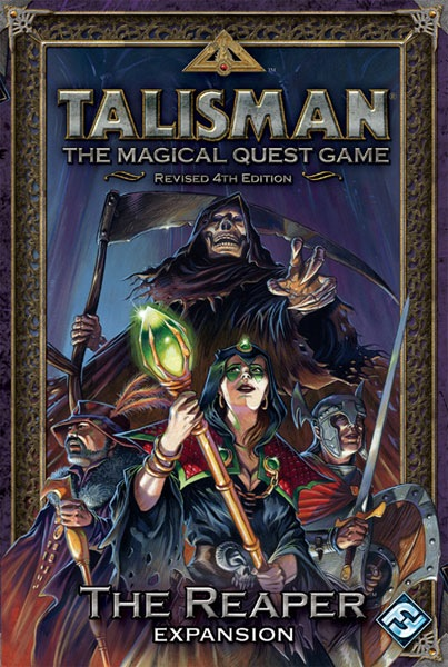 Talisman: the Magical Quest Game: Revised 4th Edition: the Reaper Expansion