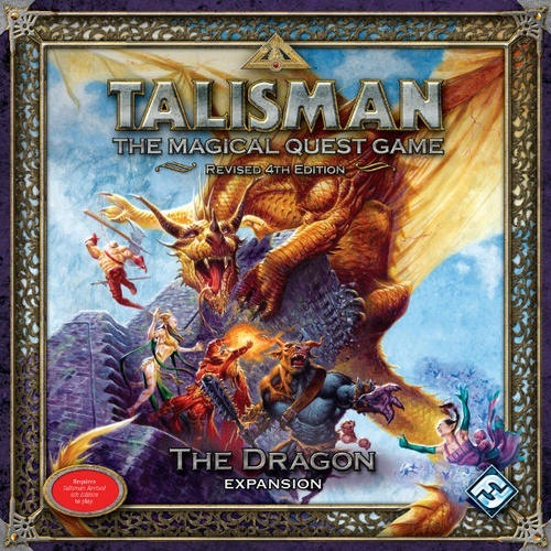 Talisman: the Magical Quest Game: Revised 4th Edition: the Dragon Expansion