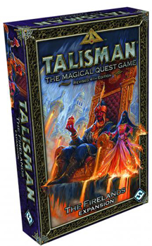 Talisman: the Magical Quest Game: Revised 4th Edition: The Firelands Expansion