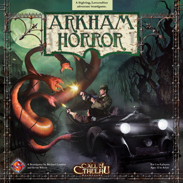 Arkham Horror Board Game - USED - By Seller No: 15800 Ted Hale
