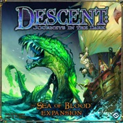 Descent: Journeys in the Dark: the Sea of Blood Expansion - USED - By Seller No: 14304 Damion Folsom-Cepuran