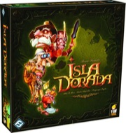 Isla Dorada Board Game - USED - By Seller No: 20 GOB Retail