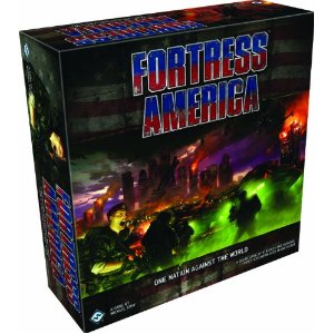 Fortress America Board Game - USED - By Seller No: 20 GOB Retail