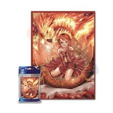 Art Sleeves - Fire Angel (Max Protect) 50 ct