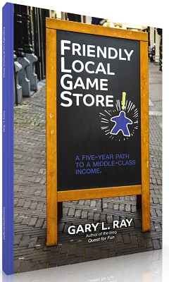Friendly Local Game Store by Gary Ray