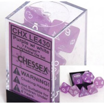 Frosted Dice Set