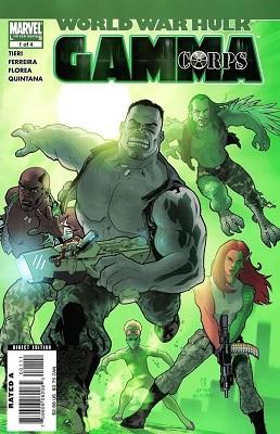 World War Hulk: Gamma Corps Complete Bundle (Issues 1-4)