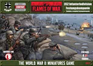 Flames of War: 352 Infanteriedivision Festungskompanie Box Set - Used