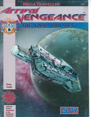 Mega Traveller: Arrival Vengeance: The Final Odyssey - Used