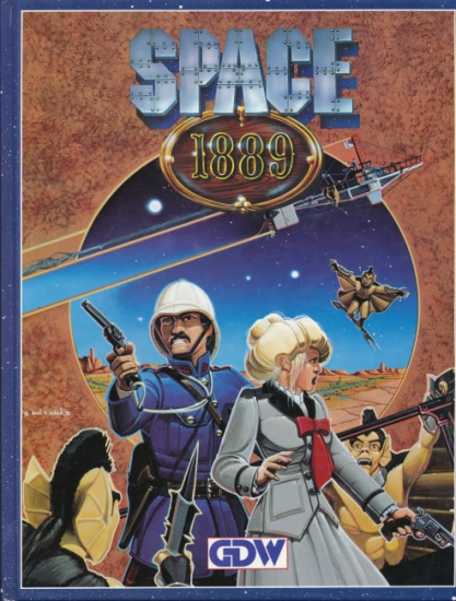 Space 1889 Core Rules Book: Hard Cover - Used