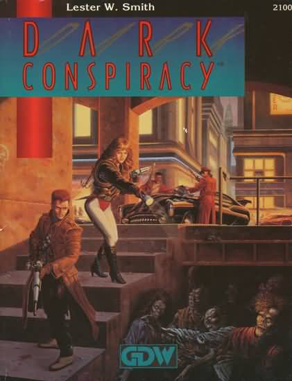 Dark Conspiracy 1st ed - Used