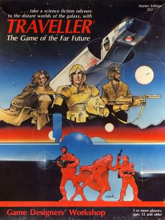 Traveller: the Game of the Far Future Box Set - Used