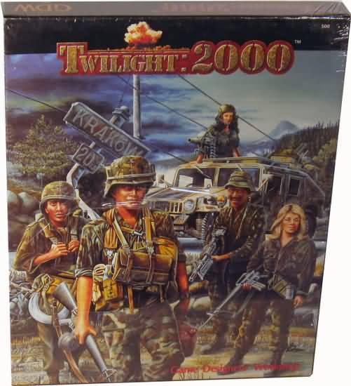 Twilight: 2000 1st ed: Box Set - Used