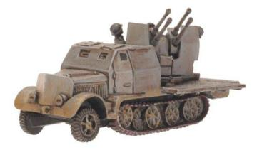 Flames of War: Sd Kfz 7/1 Armoured Quad 2cm: GE168 - Used