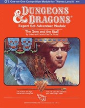 Dungeons and Dragons 1st ed: The Gem and The Staff