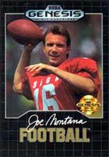 Joe Montana Football - Genesis