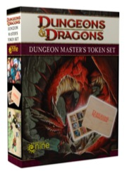 Dungeons and Dragons 4th ed: Dungeon Masters Token Set