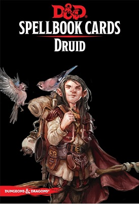 Dungeons and Dragons: Spellbook Cards: Druid Deck
