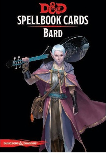 Dungeons and Dragons: Spellbook Cards: Bard Deck