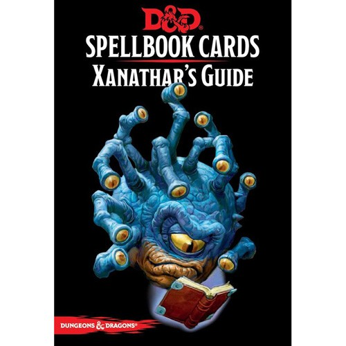 Dungeons and Dragons: Spellbook Cards: Xanathars Guide
