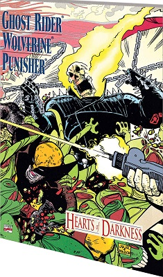 Ghost Rider Wolverine Punisher: Hearts of Darkness (1991) (Prestige Format) One Shot - Used