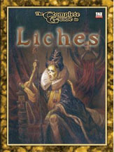 D20: The Complete Guide to Liches - Used