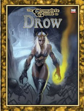 D20: The Complete Guide to Drow - Used