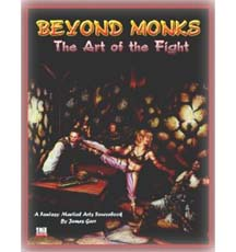 D20: Beyond Monks the Art of the Fight - Used