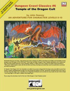 Dungeon Crawl Classics: No 6: Temple of the Dragon Cult - Used