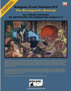 Dungeon Crawl Classics: No 12: The Blackguards Revenge - Used