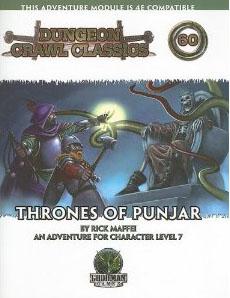 Dungeon Crawl Classics: No 60: Thrones of Punjar - Used