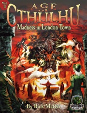 Age of Cthulhu: Madness in London Town - Used