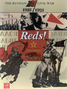 Reds: The Russian Civil War 1918-1921: Reprint War Game