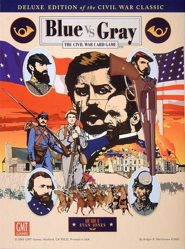 Blue VS Gray: The Civil War Card Game: Deluxe Edition of the Civil War Classic