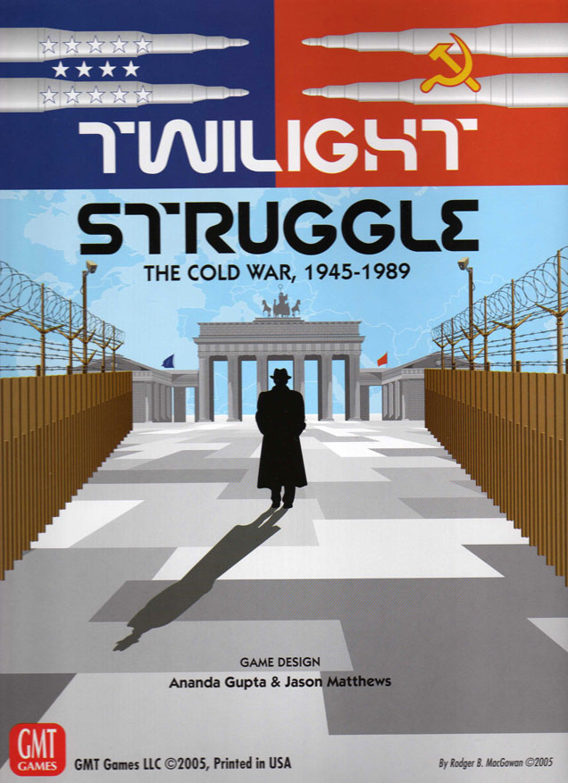 Twilight Struggle: the Cold War 1945-1989: Deluxe 2015