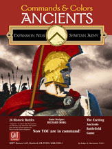 Commands and Colors Ancients: Expansion No. 6 Spartan Army